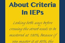 IEP tips and resources