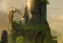 Fabulous Worlds & Flights of Fantasy / Fantasy Lands And Location artworks: fine art, CG & photographic interpretation.
