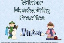 Kindergarten--Handwriting / by Amber Bilow