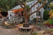 Маленькие дома (Tiny House) / Маленькие, уютные, привлекательные и функциональные дома на колёсах и без них.