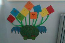 Školní kreativita / vytvořeno ve třídě, pro třídu, se třídou
