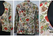 SPRING SUMMER JACKETS & SHRUGS / Designing, making, and selling highly fashionable, custom-made clothing for women/Men. Dressmaker and fashion designer.High-fashion garments designing