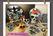 Sugar Skulls @WhatsNew / A photologue of our favorite skull products!