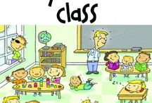 In the classroom / Teaching English