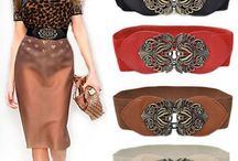 Eclectic belts for light springs / Creative belts for creative moods