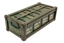 box wooden military