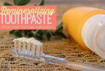 Make your own toothpaste