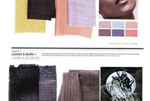Trends 2017-18 CMF / Inspiration from Peclers Paris color and fashion trends