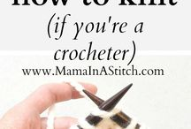 knitting for crocheters