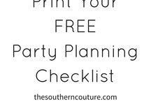 Planowanie imprez