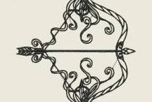 Bows and arrows