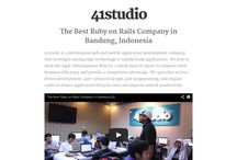 Ruby on Rails Company / The best ruby on rails development company