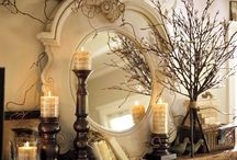 fireplaces and decor..