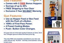 KCI Powder Coating Guns / Information about KCI Powder Coating Guns and Equipment.