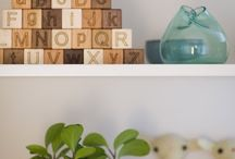 Nursery Art, Decor and organization / Tips/tricks on organizing and decor/art ideas for our future #nursery. / by Chelsea Harnish