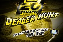 The Great #DealerHunt / Thanks for taking part in the #DealerHunt and celebrating the Dunlop Distributor Programme's 20th anniversary! This competition is now closed.
