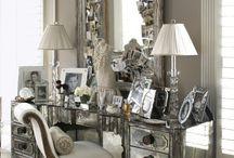 Vintage Glam Decor / Collection of vintage glam decor
