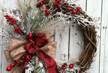 Christmas Wreaths / Awesome wreaths to buy or make yourself!