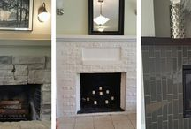 Fireplace Friday / Fireplaces we see while showing, previewing or in our listings posted on Fridays