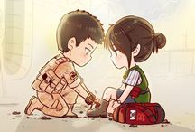 Descendant of The Sun Chibi