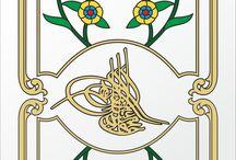 Osmanlı motifleri-çini