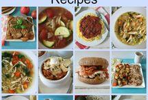 Crockpot Recipes º Recetas para Olla de Cocción Lenta