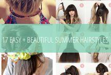 Frisuren und Haare
