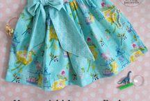 Faldas niña