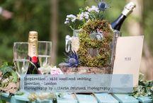 Wild Woodland Wedding / Inspirations photoshoot for a wild, colourful woodland wedding from photographer Ilaria Petrucci for british-bride.co.uk