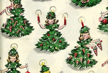 Vintage Wrapping Paper / by Tonya Nunn