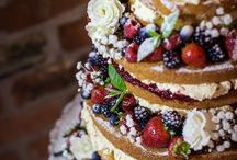 Naked Tiered Cake / Love to bake but hate layers and layers of frosting?  Naked cakes are the answer but naked tiered cakes are spectacular.  This board is designed to inspire those who are looking for baked goodness in an occasion cake!  Any occasion.