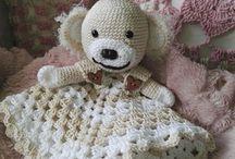 Crochet baby / Heklet litt forskjellig til mitt første barnebarn som kommer nå i april