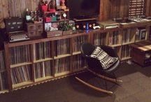 hobby room.