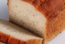 pães,  bolachas e bolos