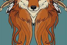 ленивый лис