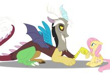 Discord e Flutthershy