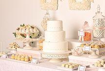 Cake dessert buffet