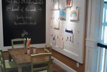 Playroom / Black board