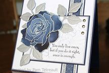 """Stamp:Fifth Avenue Floral / Handmade cards using the stamp set """"Fifth Avenue Floral"""" by Stampin' Up."""