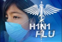 Swine Flu / Swine Flu, a respiratory disorder. It is transmitted when the virus comes in contact with another person's fluids.