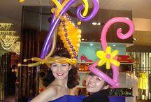 шляпы из воздушных шаров