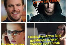 Arrow Stuff / I totally watch Arrow for the story line