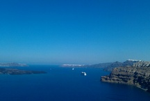 Santorini / Santorini caldeira volcan
