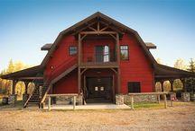 Gamble roof barns