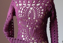 Crocheted Vest & mini dress