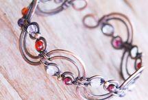 Wire Wrap bracelets/braccialetti
