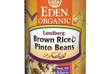 Eden Rice & Beans / Made from Eden Organic Beans & Lundberg Organic Short Grain Brown Rice. The best beans & brown rice. Quick, easy meals are minutes away with our 9 cooked brown rice & bean offerings. Just heat & serve with a salad or vegetable for a balanced meal. They make great soups too. Add water, vegetables, & season to taste. Grain & Beans - Nature's perfect combo - provide 'complete protein' with all essential amino acids. Low sodium, low fat, & delicious. BPA free can linings. Kosher