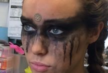 grounders makeup / Halloween 2016