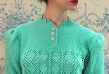 Vintage knitting / Inspiration for knitting