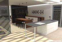 Moderní rodinný dům, minimalistický interiér - Třebíč